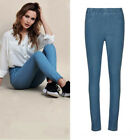 AVON Ladies Womens Blue Denim Comfort Jeggings Jean Elasticated Waist Size 10 12