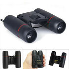 Telescope Red/Blue Membrane Optics Day Night Vision Travel Folding Binoculars