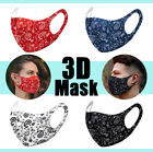 Kyпить 4 Pack Face Mask Paisley Fashion Bandana Reusable Washable Protection Cover  на еВаy.соm