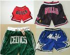 Basketball shorts [ Orlando magic Celtics Chicago bulls] shorts sewn on eBay