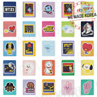 BT21 Character Removable Sticker Deco Item 35 types Official K-POP Authentic MD