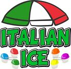 Italian Ice DECAL Choose Your Size Cups Concession Food Truck Sticker
