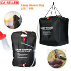 20L / 40L Portable Solar Heated Camp Shower Bag Traveling Camping Water Bathing