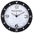 New Wall Clock, Silent Non-Ticking Operated Round Easy to Read