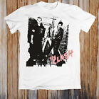 The Clash Punk Rock Band Vintage Reprint Cotton White Men T-Shirt C151 image