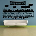 Society Deserves Better Quote Wall Sticker Home Room Vinyl Art Decal Decor
