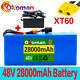 Watchers:755 48V 28Ah ebike lithium ion battery pack 1000W high power + charger