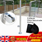 Stainless Steel Balustrade Posts- End, Mid, Corner-110cm Hight for 8-12mm Glass