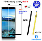 OEM For Samsung Galaxy NOTE 9 S Pen + FREE Tempered Glass Bluetooth Stylus BLACK