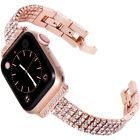 For Apple Watch iWatch Series 6 5 4 3 2 38/40/42/44mm Bling Diamond Band Strap