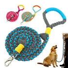150CM Rope Leads for Dogs Braided Cotton Aggressive Pet Large Dog Walking Lead