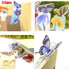 Gift Cute Stationery Paper Clip Books Markers Holder Butterfly Shape Bookmark