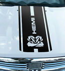 Hood Decal Dodge Ram 1500 2500 3500 Hemi 4x4 Truck Stripe Vinyl Sticker HQ1