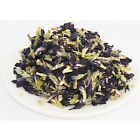 Thai Dried Butterfly Pea Herb Tea Natural Healthy Blue Pure Flower Herbal Drink