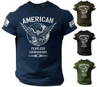 Kyпить American Men's T Shirt Fearless Courageous USA Warrior Tee Rogue Style на еВаy.соm