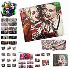Suicide Squad Wallet Bifold Short Leather Credit card Purse Cosplay Gift