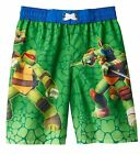 TEENAGE MUTANT NINJA TURTLES BOY'S SWIM TRUNKS  NWT UPF 50+  Size 4