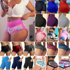 Women Ruched High Waist Push Up Booty Shorts Gym Sport Fitness Yoga Hot Pant Y09