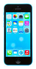 Apple iPhone 5c - 16GB - Blue (Unlocked) EXCELLENT CONDITION A1456 (CDMA + GSM)