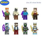 Minecraft Custom Minifigures Block Brick Compatible w/ Lego USA NIP