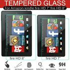 'Clear Hd 7 Inch 8 Inch Tempered Glass Screen Protector For Amazon Kindle Fire