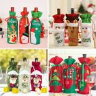 Bottle Cover Christmas Wine Santa Claus Stocking Holders Xmas Home Decorations