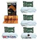 Orange SWAT-T IFAK or Bug Out Bag Tourniquet w/ Compressed Krinkle Gauze 3160