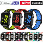 For Apple Watch Band Series Se/6/5/4/3 Sport Silicone Iwatch Strap 38 42 40 44mm