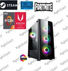 Gaming Pc Computer Amd Ryzen 3200g 16gb 240gb+2tb 6gb Gtx 1660 6usb 3.1 Ports