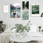 Lake+Canvas+Poster+Nature+Nordic+Style+Landscape+Wall+Art+Painting+Decorative