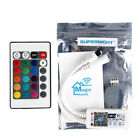 Smart WiFi RGB LED Controller Strip Lights Control with Alexa Google App Home US