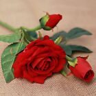 1pc Rose Silk Cloth Artificial Flowers Simulation Real-look Wedding Home Decor