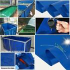 2X1X0.9M Aquaculture Pool Pvc Coated Cloth Coated Banner Tarpaulin Greenhouse Fi
