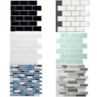 3d Kitchen Tile Stickers Bathroom Self-adhesive Mosaic Wall Cover Decal Sticker