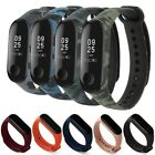 For Xiaomi Mi Band 3 4 Strap Replacement Wrist Bracelets Silicone Watch Band an
