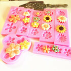 Flower Silicone Fondant Cake Mold Chocolate Dessert Decor DIY Baking Mould Tool