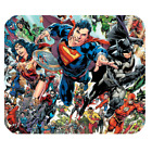 New DC Comics Characters Superheroes Mousepad Rectangular, Round, Heart-shaped