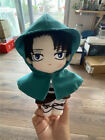 Anime Attack on Titan Levi Rivaille Plush Doll Clothes Outfit Toy For Kids Gift