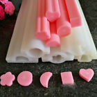 DIY Hand Soap Mold Silicone Tube Column Mould for Homemade Craft Soap Mould  yy