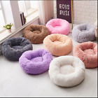 Dog/Cat Bed Round Super Soft Plush Pet Bed Marshmallow Candycolors Comfy Calming