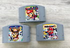 Nintendo N64 Games - Pick & Choose - TESTED - Mario Kart, Zelda, Pokemon REPROS*
