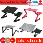 Adjustable height Foldable Laptop Desk Computer Table Stand Tray For Bed Sofa