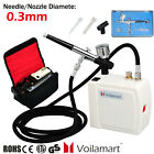 Best Airbrushes - Voilamart Airbrush Compressor Kit Dual Action Spray Gun Review