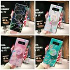 Внешний вид - Laser Marble Case Cover Holder For Samsung Galaxy S20 S10 S9 S8 Plus Note10 9 8