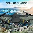 UK E58 WIFI FPV 4K HD Camera Foldable RC Drone Quadcopter Batteries Selfie