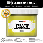 Внешний вид - Yellow - Screen Printing Plastisol Ink - Low Temp Cure 270F - All Sizes
