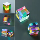 CMY Op-tic Pr-ism Cubes - Optical Glass Prism, RGB Dispersion Six-Sided Cube