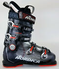 Kyпить High End $500 Mens Nordica Speedmachine 110 R Black Silver Red Ski Boots Used на еВаy.соm