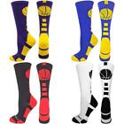 MadSportsStuff Basketball Socks w/ Basketball Logo Athletic Crew Socks (1 Pack)