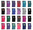 For Iphone Rugged Defender Case Cover With Belt Clip + Screen Protector